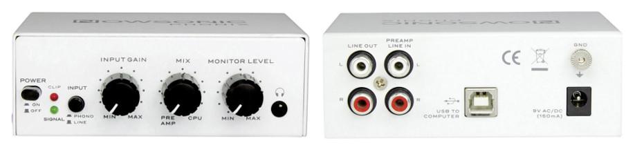 Nowsonic Phonix USB Phono-Vorverstärker